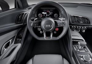 Audi R8 2015, передняя панель