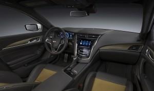 Cadillac CTS-V, передняя панель