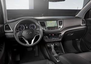 Hyundai Tucson 2015, передняя панель