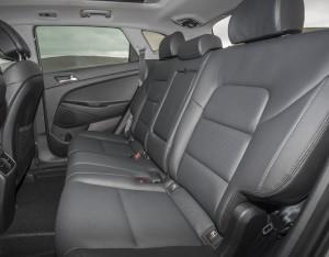Новый Hyundai Tucson, задние сиденья