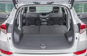 Hyundai Tucson 2015, багажник