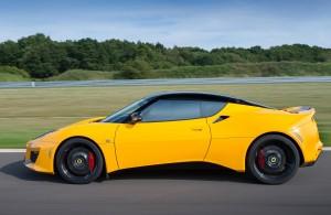 Lotus Evora 400 2015, вид сбоку