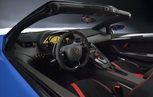 Lamborghini Aventador LP750-4 SuperVeloce Roadster, передняя панель