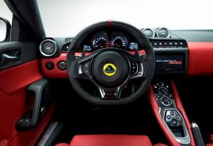 Lotus Evora 400, передняя панель
