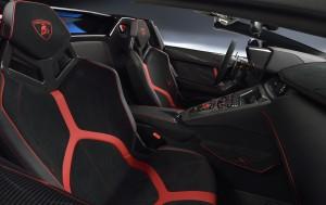 Lamborghini Aventador LP750-4 S Roadster 2015, сиденья