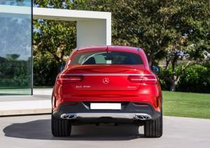 Mercedes-Benz GLE Coupe 2015, вид сзади