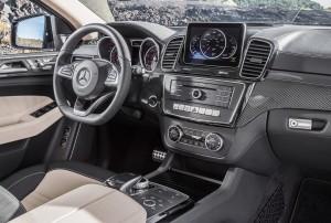 Mercedes-Benz GLE Coupe, передняя панель