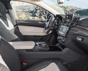 Mercedes-Benz GLE Coupe 2015, передние сиденья