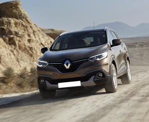 Renault Kadjar 2015, вид спереди