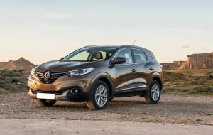 Renault Kadjar, вид на переднюю диагональ