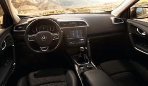 Renault Kadjar, передняя панель