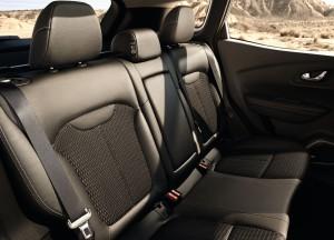 Renault Kadjar, задние сиденья