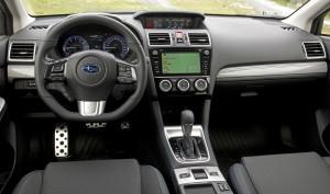 Subaru Levorg, передняя панель