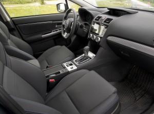Новый Subaru Levorg, передние сиденья
