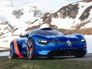 Концепт-кар Renault Alpine A110-50