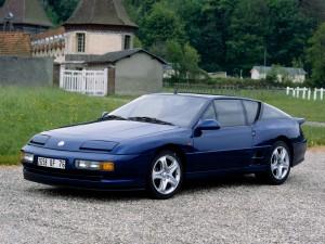 Alpine A610 1991 года