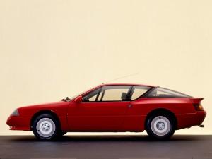 Alpine GTA 1985 года