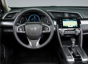 Honda Civic, передняя панель