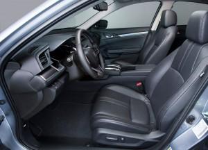 Honda Civic 2015, передние сиденья