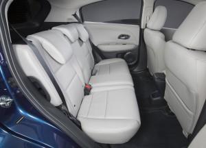 Новый Honda HR-V, задние сиденья