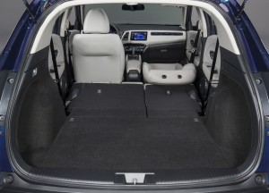 Honda HR-V 2015, багажник