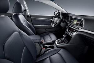 Новый Hyundai Elantra, салон
