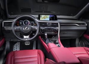 Новый Lexus RX, передняя панель