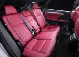 Новый Lexus RX, задние сиденья