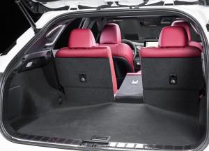 Lexus RX четвертого поколения, багажник