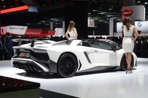 Lamborghini Aventador LP750-4 SuperVeloce Roadster 2015