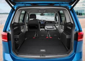 Volkswagen Touran третьего поколения, багажник