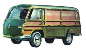 ЛАЗ-750, 1950 год