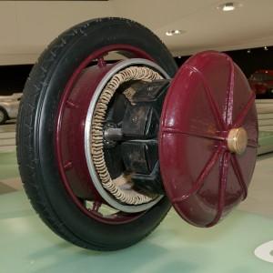 Мотор-колесо - изобретение Фердинанда Порше