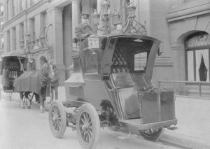 Электрическое такси, Германия, 1904 год