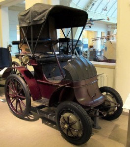 Электромобиль Lohner-Porsche 1900 года