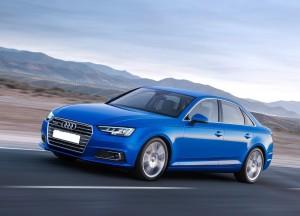 Новый Audi A4, вид на переднюю диагональ
