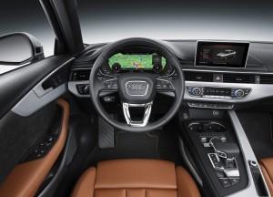 Новый Audi A4, передняя панель