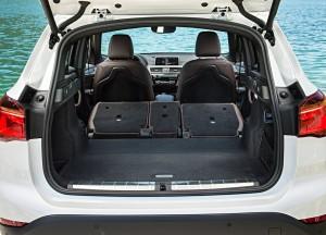 BMW X1, багажник