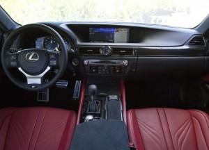 Lexus GS F 2015, передняя панель