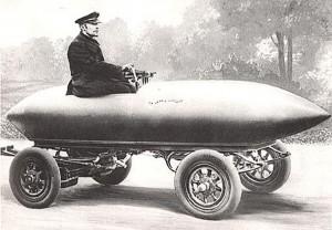 La Jamais Contente стал первым автомобилем, достигшим 100 км/ч