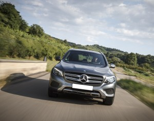 Mercedes-Benz GLC 2015, вид спереди