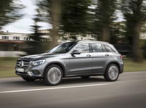 Mercedes-Benz GLC 2015, вид на переднюю диагональ
