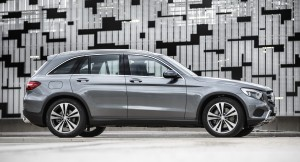 Mercedes-Benz GLC 2015, вид сбоку