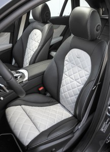 Mercedes-Benz GLC 2015, передние сиденья