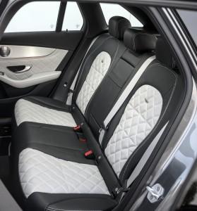 Новый Mercedes-Benz GLC, задние сиденья