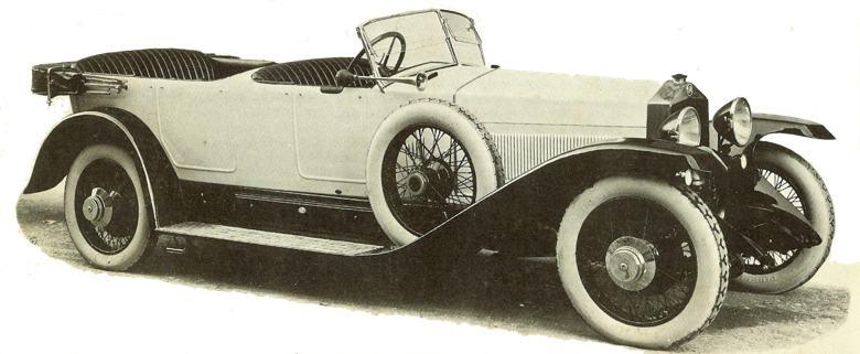 SPA 23S 1921 года