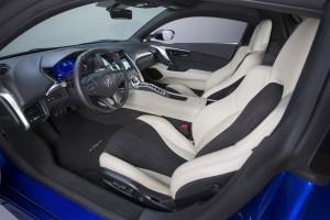 Новый Acura NSX, сиденья
