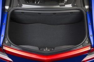 Acura NSX, багажник