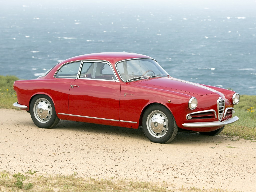 Alfa Romeo Giulietta Sprint 1958 года