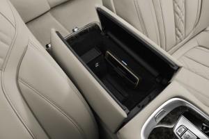 BMW 7 Series, беспроводное зарядное устройство для мобильного